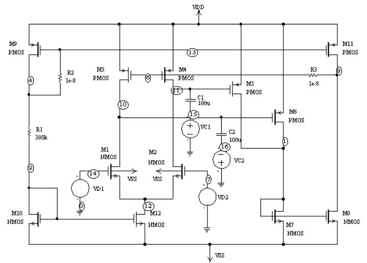 Operational transconductance amplifier thesis